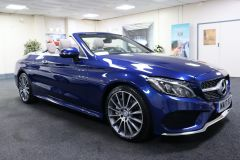Used MERCEDES C250D CONVERTIBLE for sale